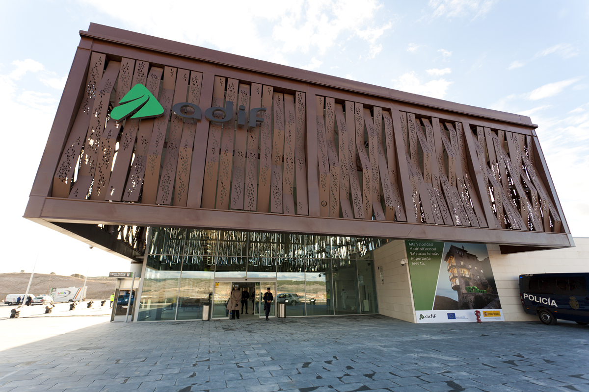 Estación del AVE de Cuenca