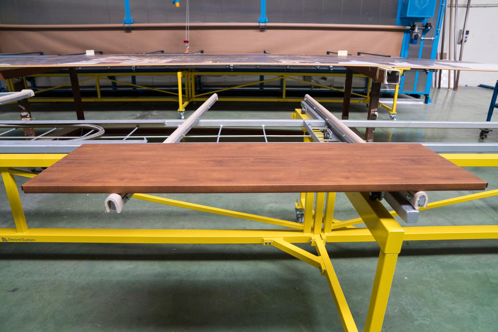 Bandeja sublimada acabado madera- lateral