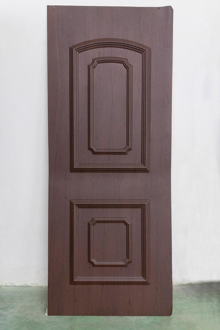 Moldura puerta sublimada acabado madera