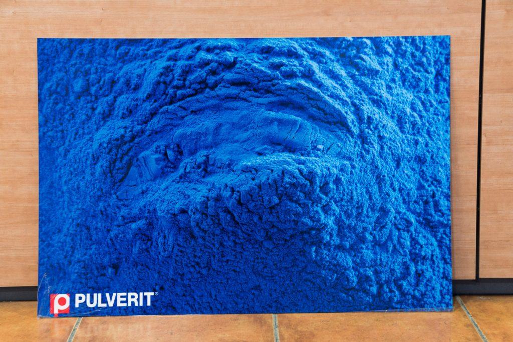 Pintura en polvo- PULVERIT