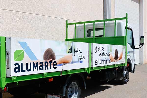 camión-rotulado